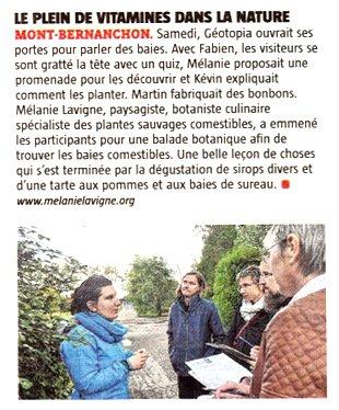 Mélanie Lavigne La Voix du Nord