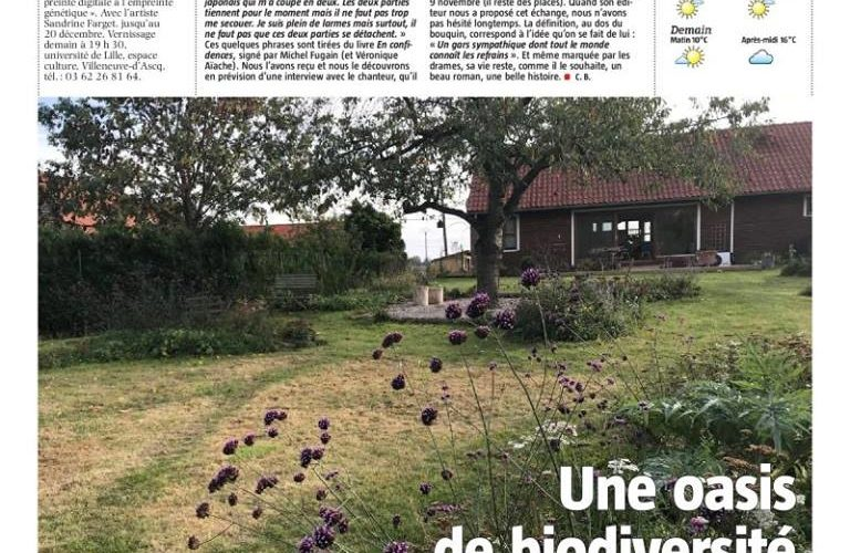 un jardin en permaculture Nord